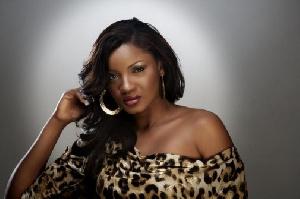 Popular Nollywood actress, Omotola Jalade