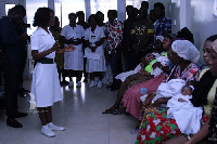 Daniel  Amoateng payed the bills of 10  women who couldn't afford to pay hospital bills