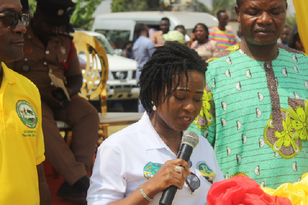 Oforikrom best farmer charges her colleagues to be extra hard working; says farming is lucrative