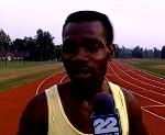 Ferdie Adoboe,The fastest man backwards