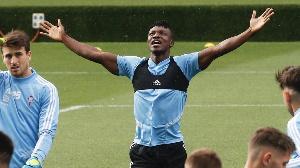 Celta Vigo defender Joseph Aidoo