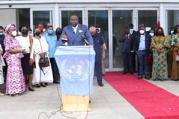 Ghana marks 76th UN Day with flag raising