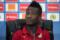 General captain of the Black Stars, Asamoah Gyan