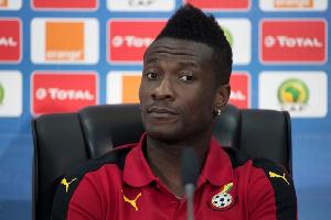 Asamoah Gyan Captain