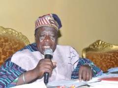 Naa Prof John S. Nabila, President of National House of Chiefs