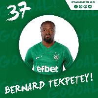 Ghana international Bernard Tekpetey