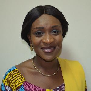 Mrs Abena Osei Asare Deputy Minister Of Finance Common Fund
