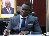 Mr. Justice Yaw Ofori, Commissioner of Insurance (NIC)