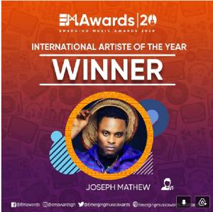 UK-based Ghanaian Afro Gospel musician, Joseph Matthew