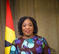 Shirley Ayorkor Botchwey, Ghana's Foreign Affairs minister