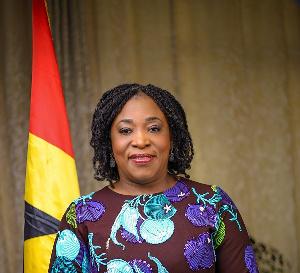 Minister of Foreign Affairs, Shirley Ayorkor Botchwey