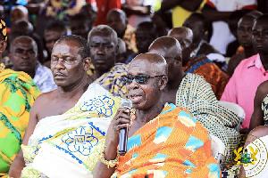 The Chief Of Sekyere Hemang In The Western Region Nana Kwedukyerefuor II