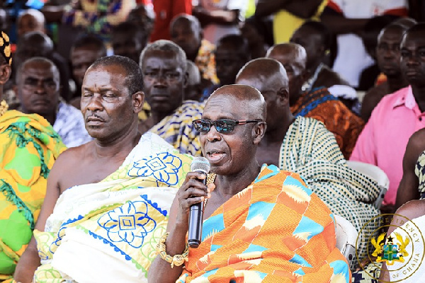 Chief of Sekyere Hemang, Nana Kwedukyerefuor II