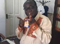 Acting National Chairman of NPP taking up the Kalypo Challenge