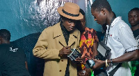 Opanka at his 'Akwaaba' album launch