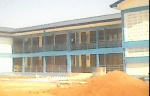 The 12-classroom block is to help reduce congestion in classrooms