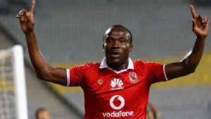 John Antwi scored the only goal as Pyramids FC edged Ismaily FC