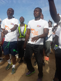 'walk with lexis' up Aburi Mountain