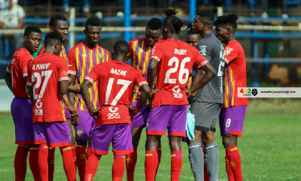 Hearts of Oak lose 3-2 to Accra Lions in friendly ahead of CAF CL tie against CI Kamsar