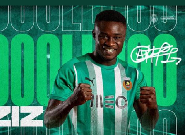Ghanaian attacker Abdul-Aziz Yakubu on target for Rio Ave in win against Vilafranquense
