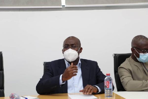 Chief Executive Officer GIADEC Michael Ansah