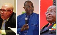 Moses Foe Amoaning, Ekwow Spio-Garbrah and Prof. Mike Aaron Oqauye