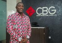 Daniel Wilson Addo, Managing Director of CBG