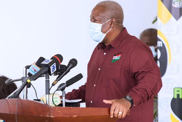 2020 election: NDC campaign sets sail as Mahama inaugurates 26-member team