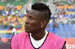 General Captain of the Black Stars Asamoah Gyan