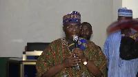 Dr. Mahamudu Bawumia was speaking to the people