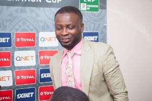 Chief Executive Officer of AshantiGold SC Frederick Acheampong