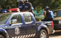 The suspects were arrested and later escaped at the police station