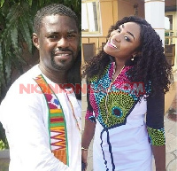 Emelia Brobbey and her baby daddy