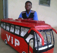 The student plans to launch his newly built VIP Bus in a couple of months