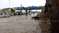 Some parts of Accra flooded but no deaths were recorded