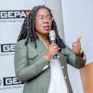 Dr. Afua Asabea Asare, GEPA Chief Executive Officer