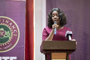 Gloria Akoto, CEO of First Finance Company Limited