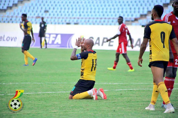 Black Stars captain Andre Ayew a doubt for Sudan clash on Tuesday