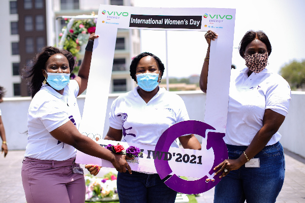 Vivo Energy Ghana employees commemorate International Women's Day
