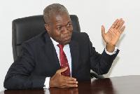 The late Former Vice President, Paa Kwesi Amissah-Arthur