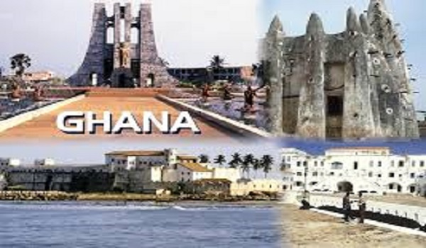 Some tourism destinations in Ghana
