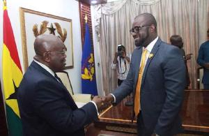 President Nana Akufo-Addo with GFA President