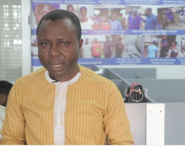 Ibrahim Oppong Kwarteng,  Executive Director of CCF