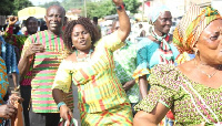 Lucy Anim Koryo , a parliamentary aspirant of NDC in Suhum constituency