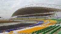 Newly constructed Cape Coast stadium