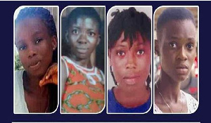 The four victims have been declared dead following the results of the DNA tests