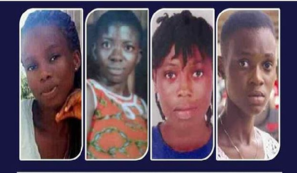 The missing Takoradi girls were declared dead by the Ghana Police Service