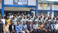 CID officials with the new graduating course 4 trainees