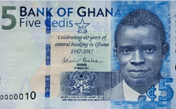 James E. Kwegyir-Aggrey: The Gold Coast academician and priest on the 5 Ghana cedis note