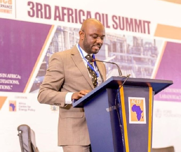 Benjamin Boakye, Executive Director of the Africa Centre for Energy Policy (ACEP)